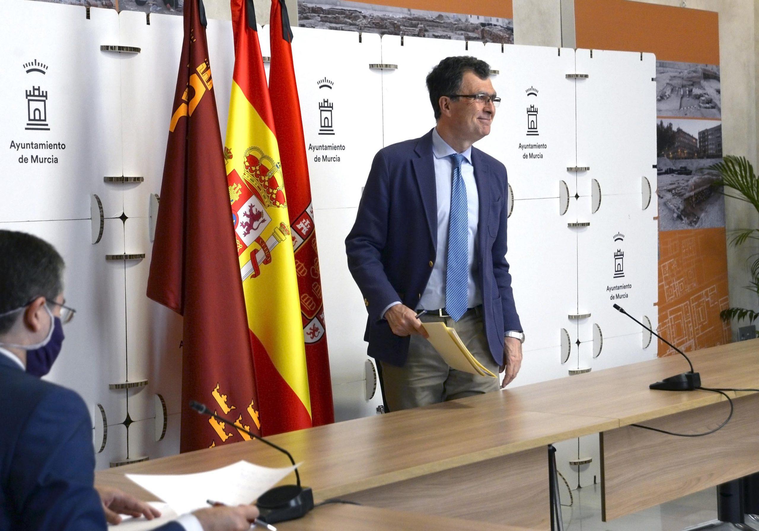 El alcalde de Murcia, José Ballesta