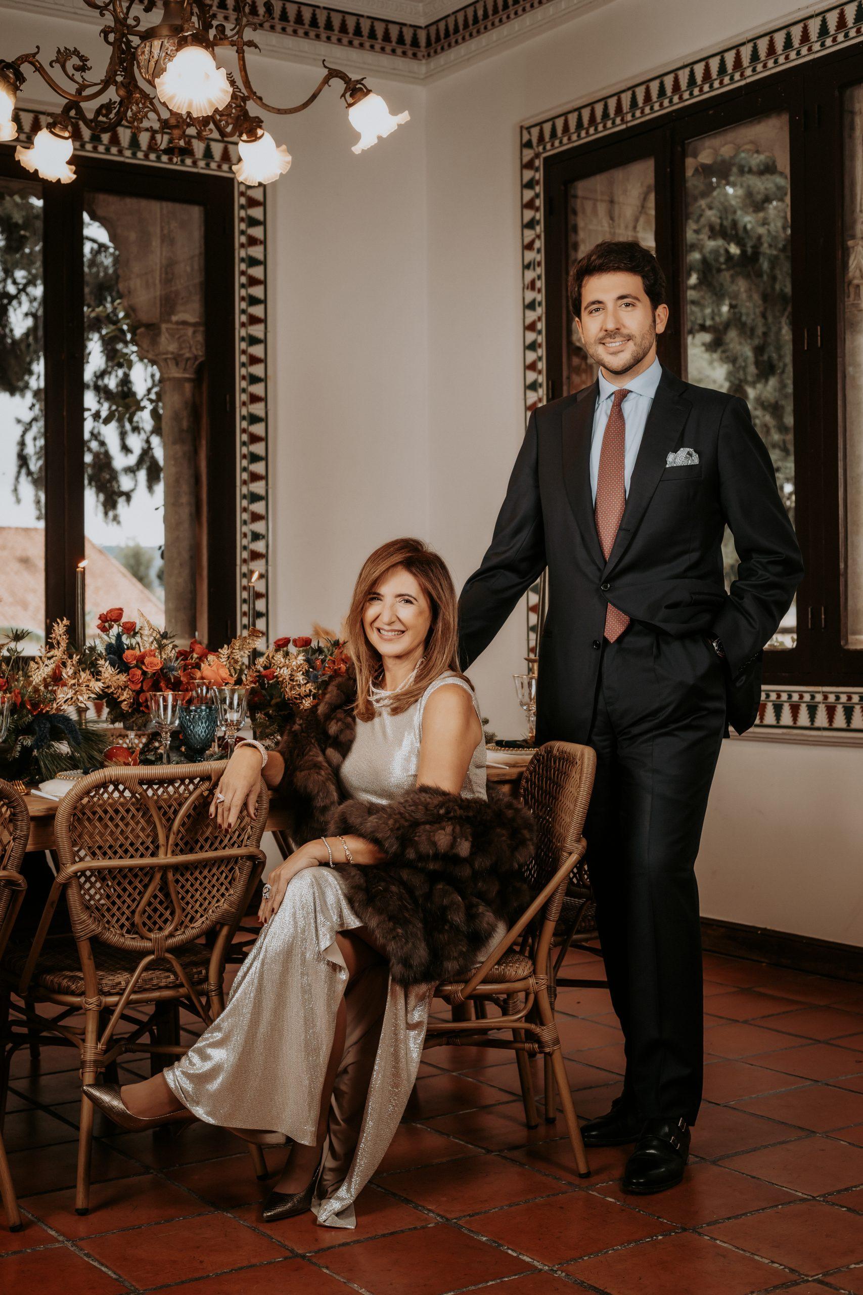 Ana Salvat y Rafael Cebrián