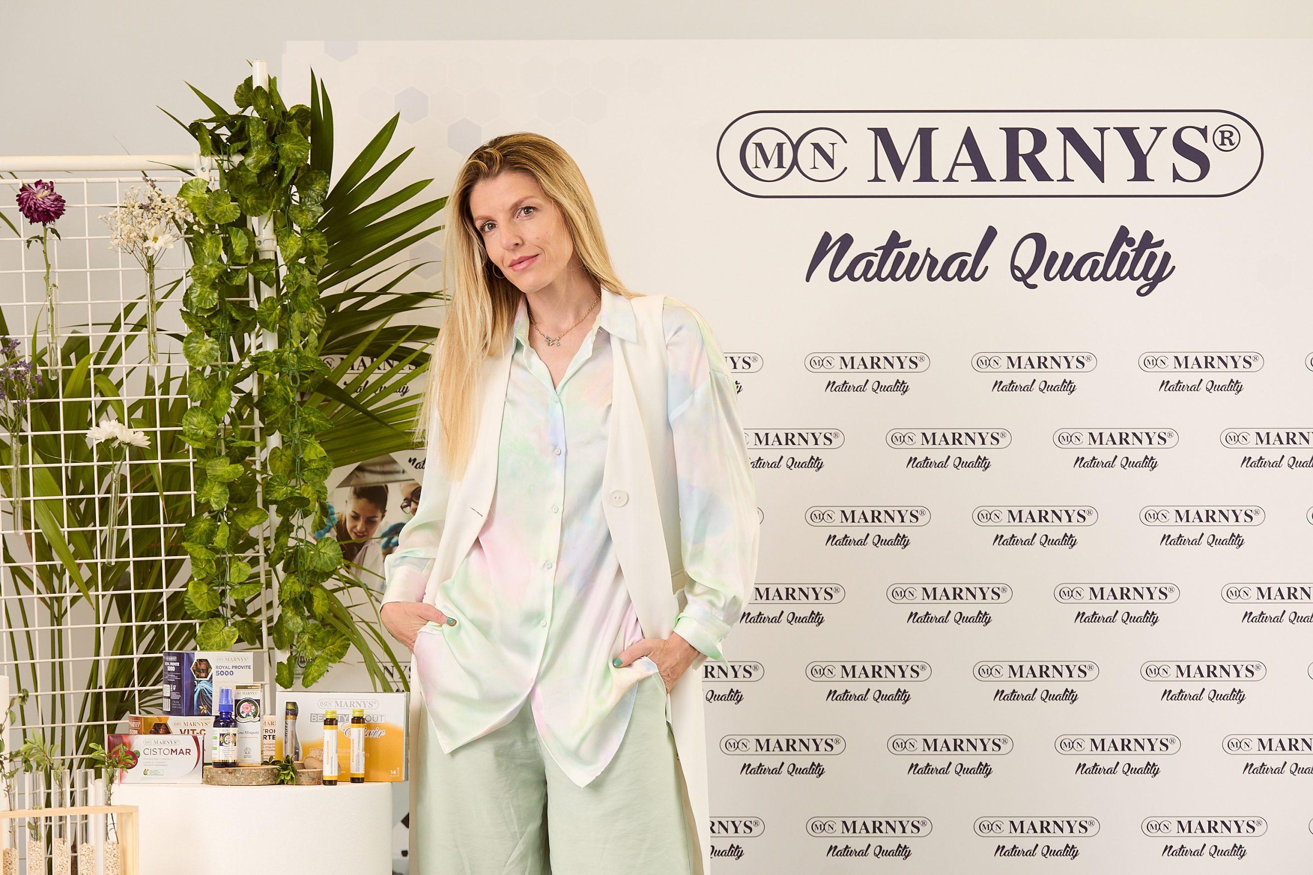 Crys Dyaz, embajadora de marca de MARNYS